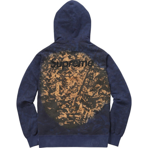 Supreme Burroughs Hooded Sweatshirt Navy