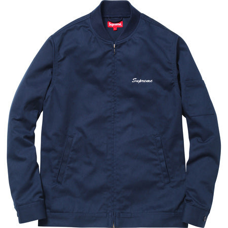 Supreme / White Castle Work Jacket Navy