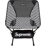 Supreme Helinox Chair Black and White Checker Packable Folding