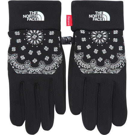 Supreme / The North Face Bandana Etip Gloves Black Large