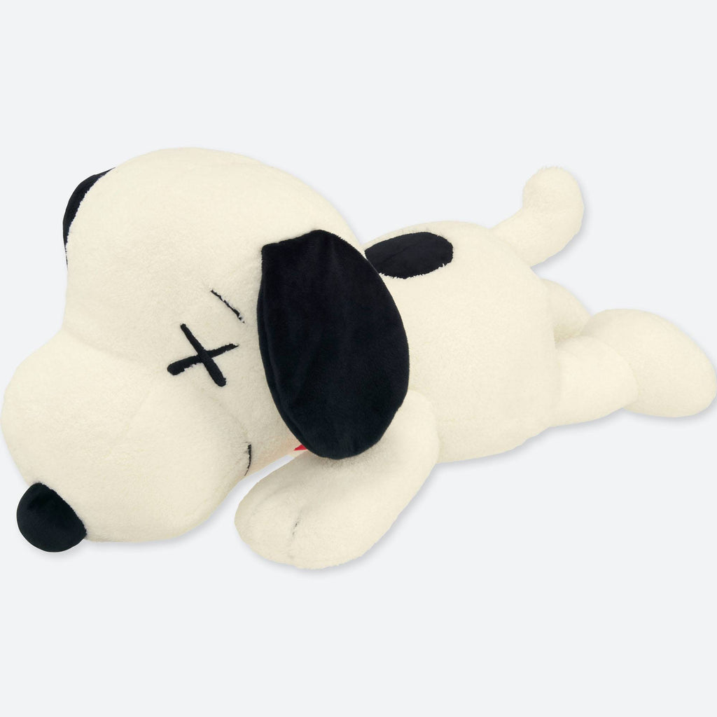 Kaws X Peanuts Snoopy Plush Large Curatedsupply Com