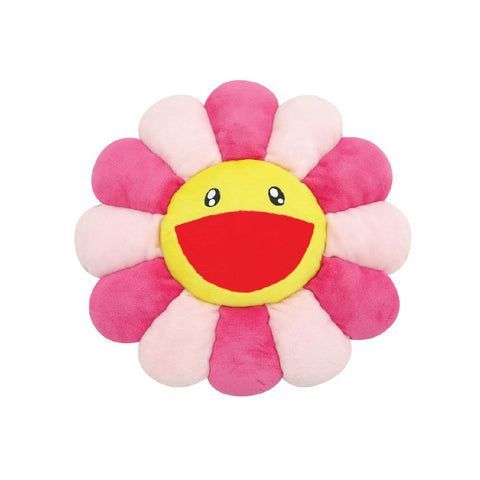 TAKASHI MURAKAMI FLOWER PLUSH CUSHION (PINK) 12 INCH