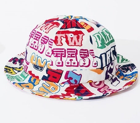 Supreme x Hysteric Glamour Text Hat