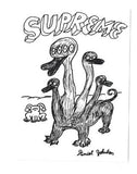 Supreme Daniel Johnston Duck Sticker