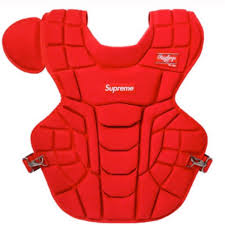 Supreme Rawlings Catchers Chest Protector Red