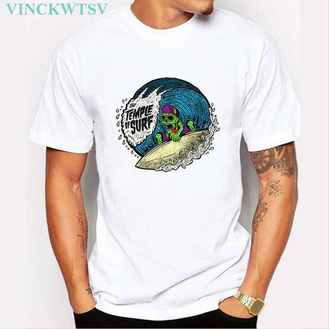 Men's Surfboard Design T Shirt