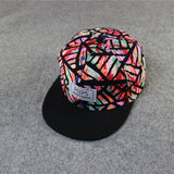 Unisex Casual Caps Men Women Outdoor Sunhats Snapback Hat Adjustable Baseball Cap Cool Floral Printed Cool Hip Hop Hats 2017 Hot