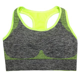 Women Sports Fitness Gym Bra Tops Women Workout Training Vest Female Workout Top Running Wireless Running Sport Underwear