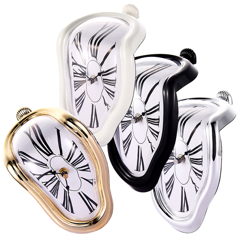 Creative Style Right-angle Shape Decorative Desk Clocks Wall Clock Table Clock Reloj De Mesa Vintage