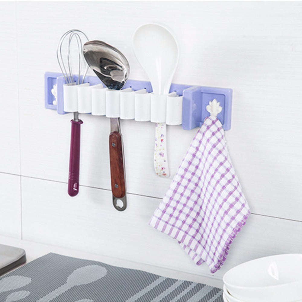 Multi-functional Plastic Home Kitchen Bathroom Storage Rack Environmental Durable Bracket Storage Rack