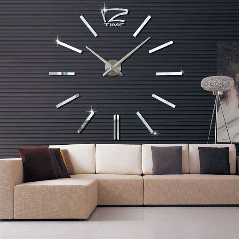Wall clocks modern wall art online store large size wall clock 3d diy sticker home decoration vintage oversize artistic needle circular clock for amipublicfo Choice Image