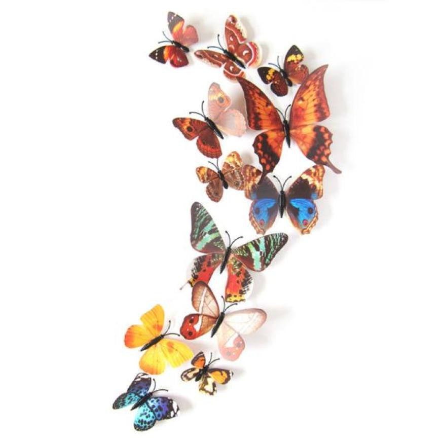 wall stickers 3d butterfly wall decor vinilos paredes wall sticker 3d movie wall stickers room decorations bathroom poster