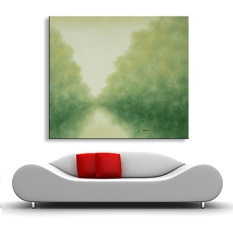 handmade oil painting on canvas modern Landscape painting art Abstract  oil painting original directly from artist HVD-001