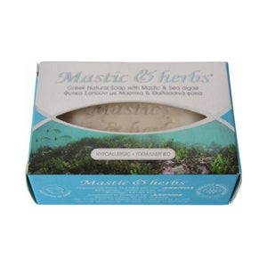 Greek Mastic / Mastilha Sea Algae Natural Island Soap