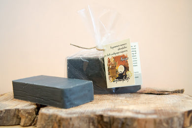 Natural Handmade Greek Black Olive Oil Soap