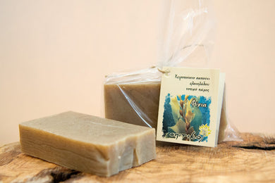 Natural Handmade Greek Olive Oil Soap - Island Sea Algae