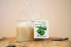 Handmade Greek Natural Olive Oil Soap - Aloe Vera