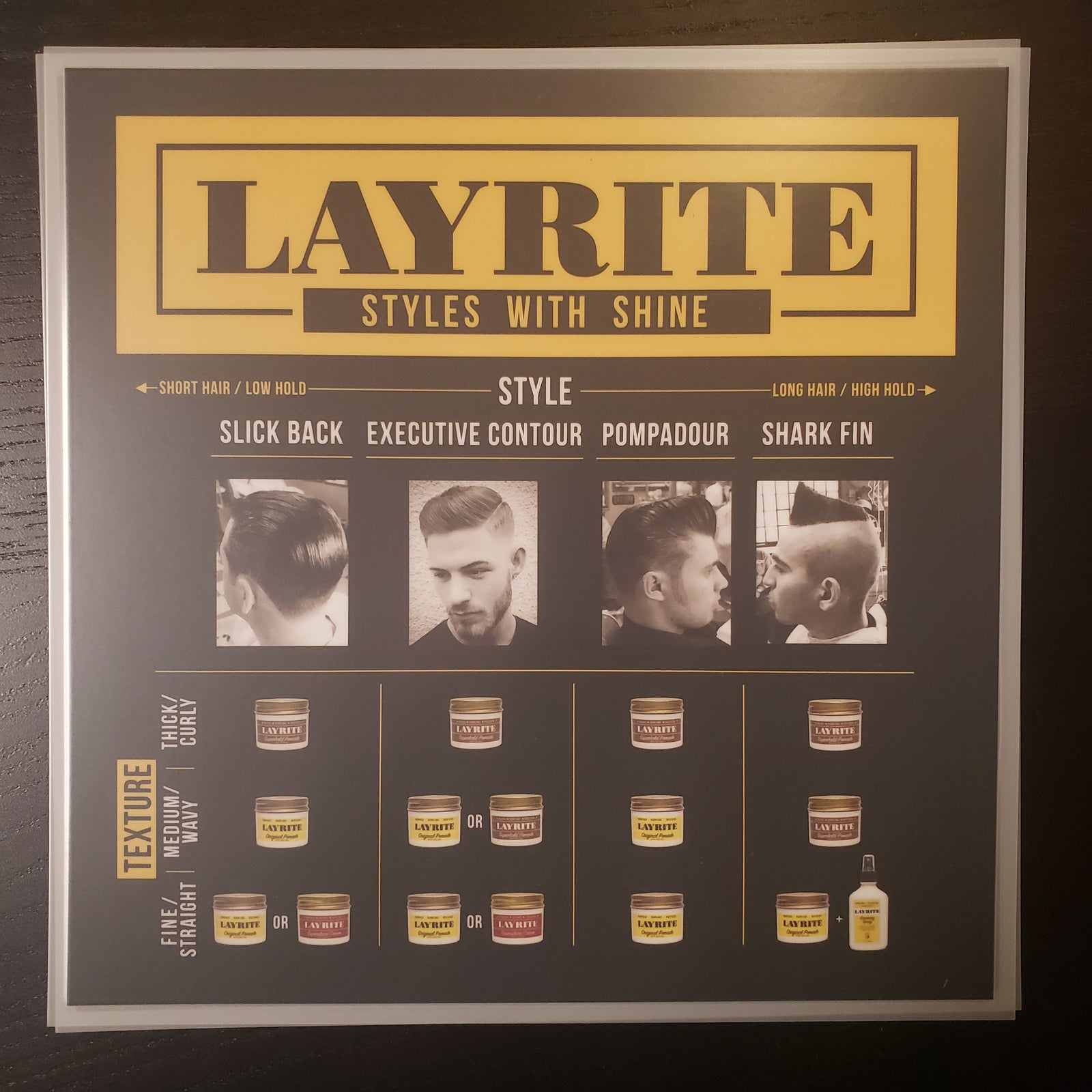 Layrite Style Card