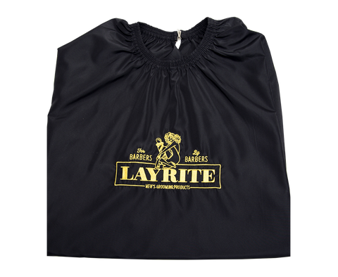 Layrite Deluxe SHEARS BROWN Custom Limited Edition Chair Cloth/Cape