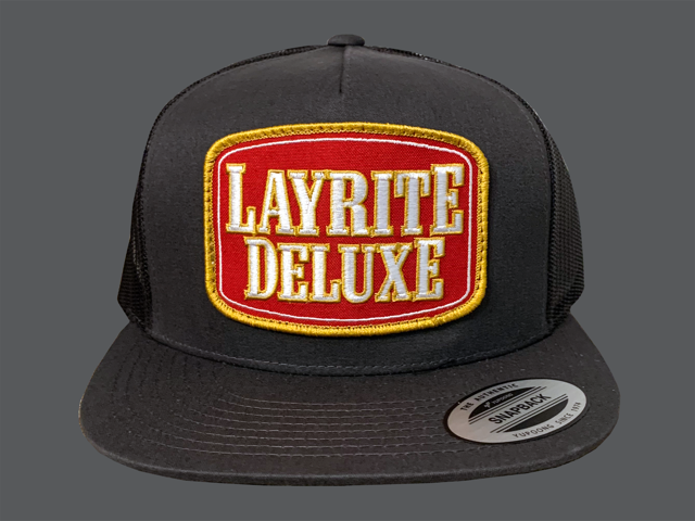 Layrite Stacked Trucker Hat Charcoal