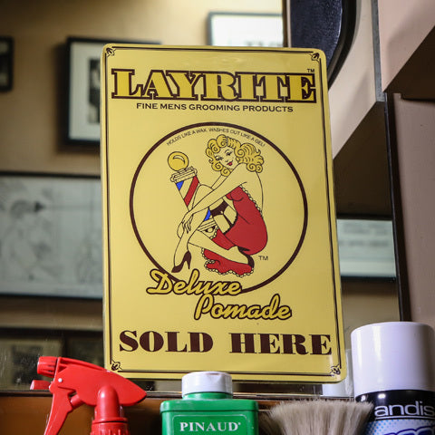 Layrite Sold Here Window Cling