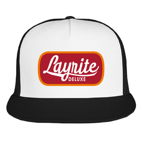 Layrite Brew Trucker Hat Silver/Black