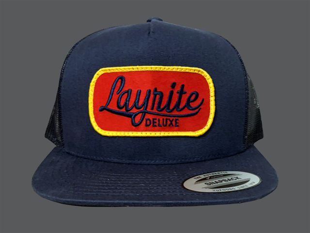 Layrite Brew Trucker Hat Navy