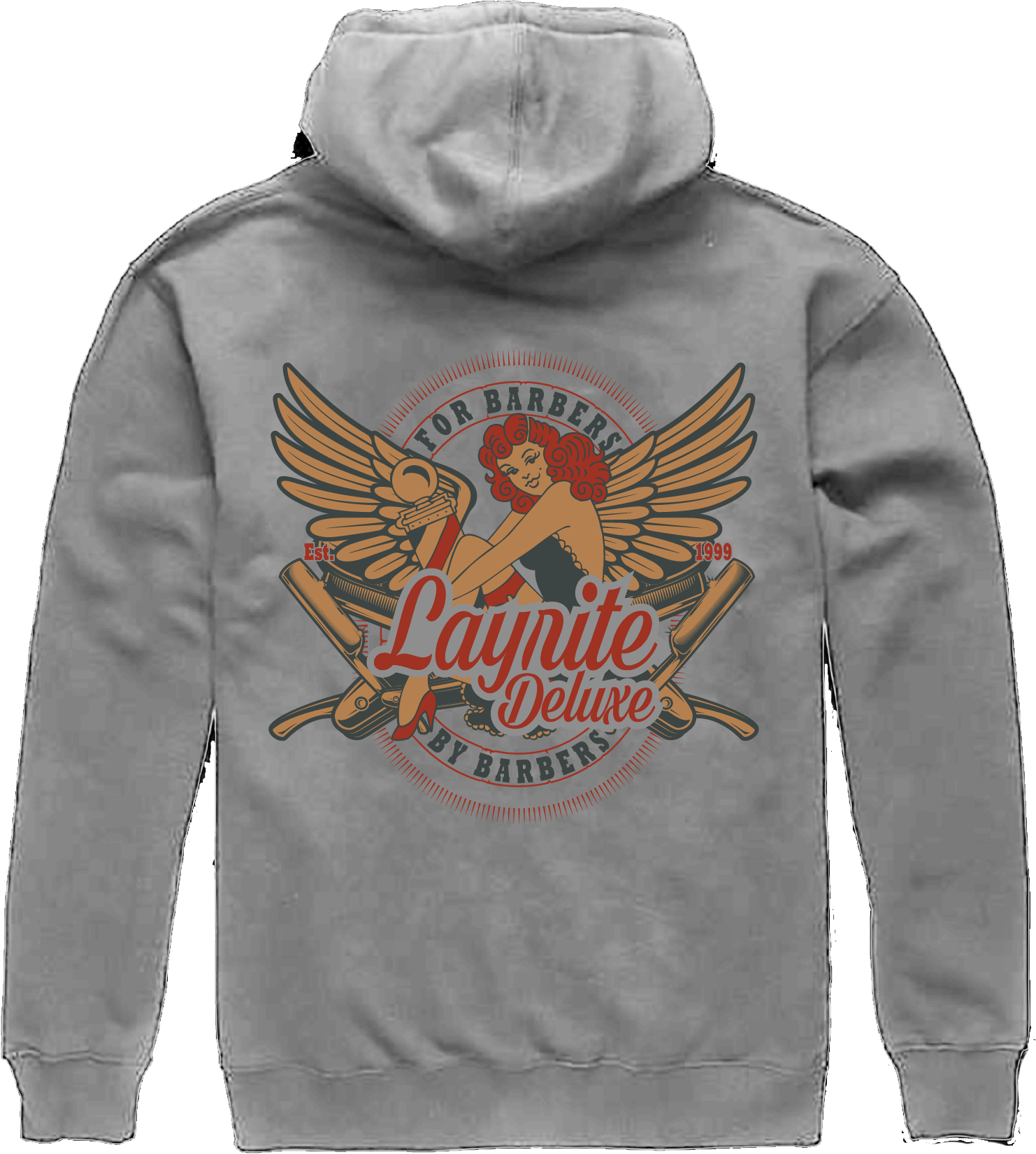 Razors and Wings Pullover Hooded Sweatshirt