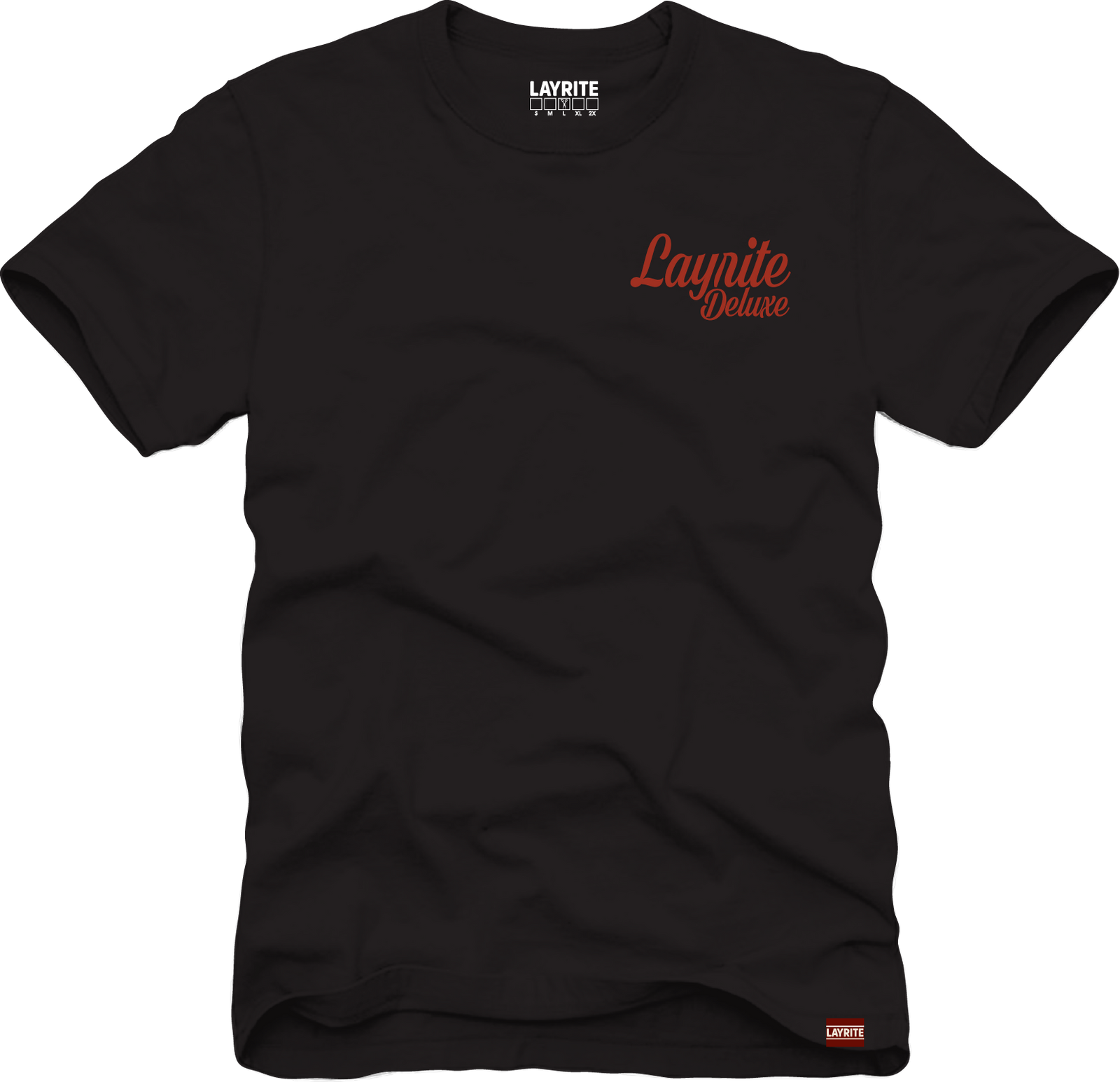 Layrite Wings Black TEE
