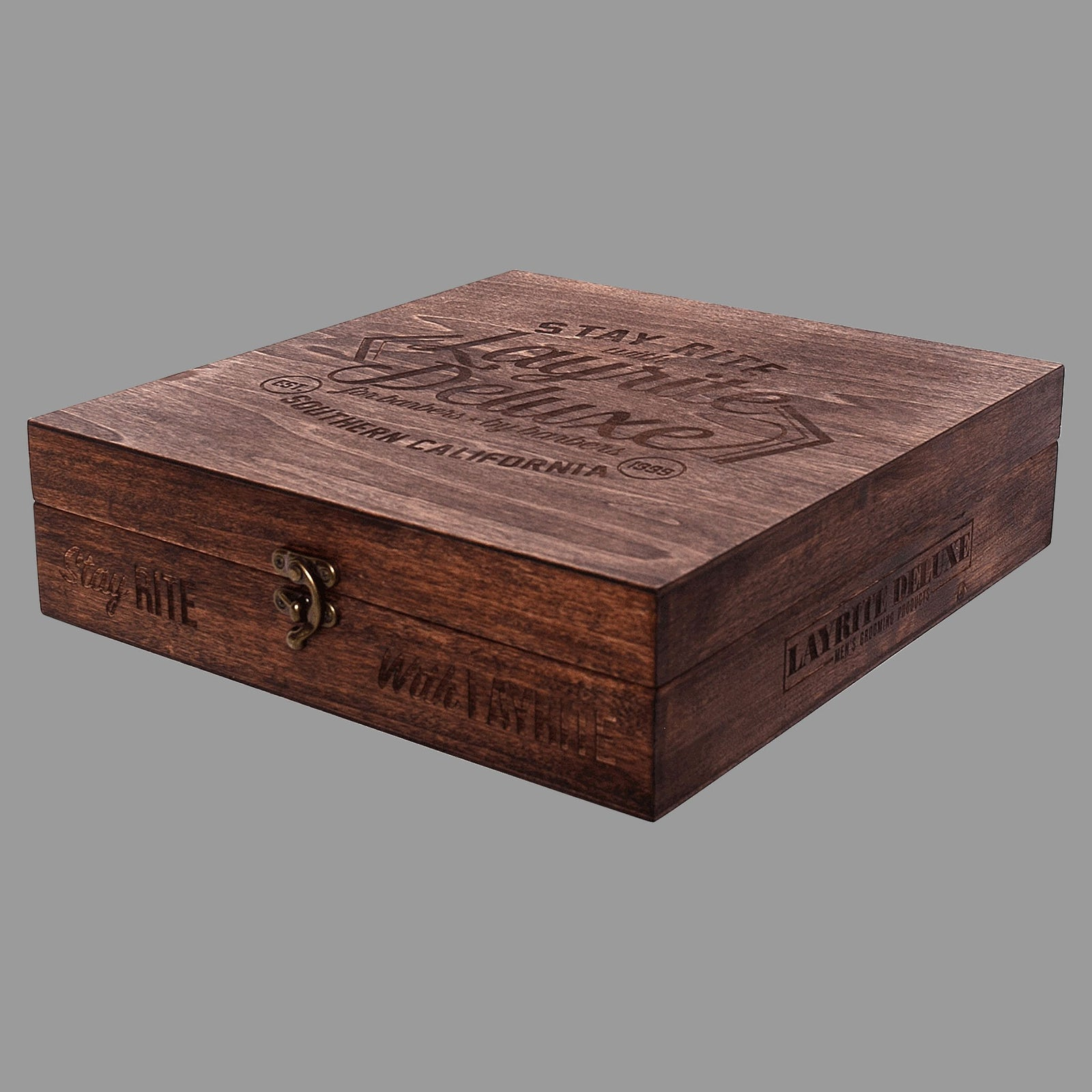 Layrite DELUXE Holiday Wood Gift Box PRE-ORDER