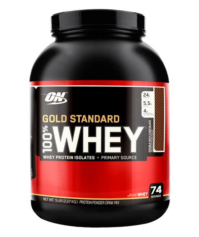 Gold Standard 100 % Whey - 5 Lbs