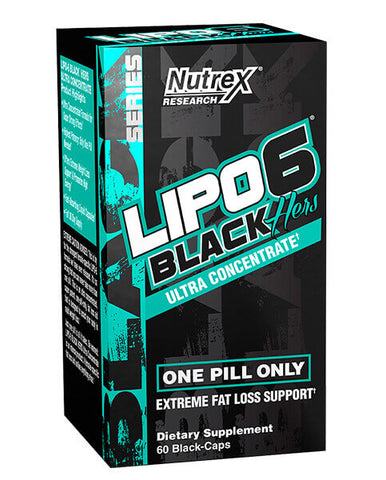 Lipo 6 Black Hers Ultra Concentrate - 60 caps