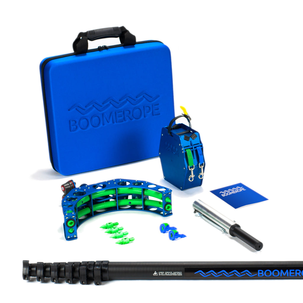 boomerope arborist kit with carbon fiber 29 pole