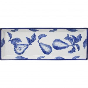 Rectangle Plate French Pear