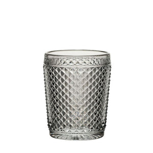 Diamond Cut Glass Tumbler