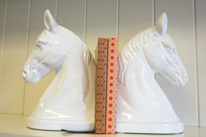 Horse Head BookendsT
