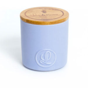 Lanterncove Pastel Candle – Smoked Wood & Patchouli