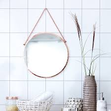House Doctor Round Hanging Mirror