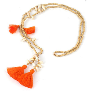 Shell Tassel Necklaces