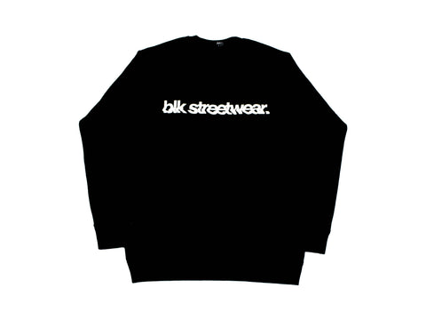 GLITCH CREWNECK | BLK