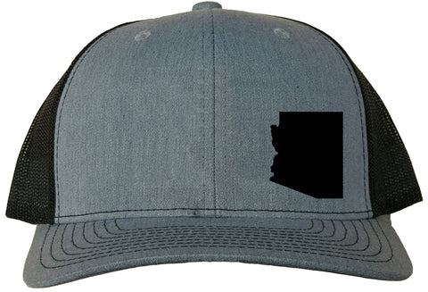 Arizona Snapback Hat - Grey/Black
