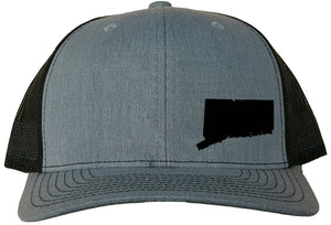 Connecticut Snapback Hat - Grey/Black