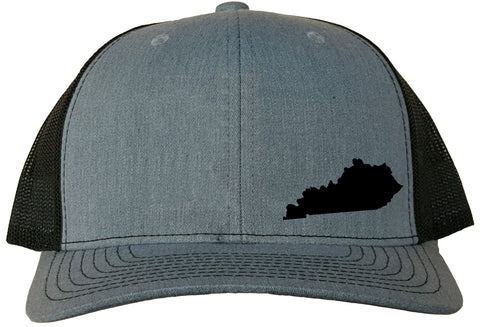 Kentucky Snapback Hat - Grey/Black