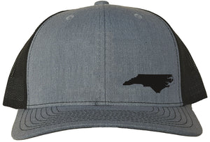 North Carolina Snapback Hat - Grey/Black
