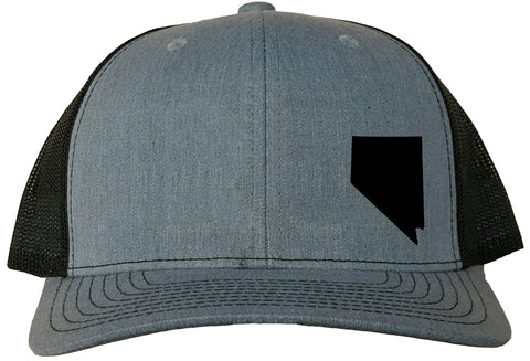 Nevada Snapback Hat - Grey/Black