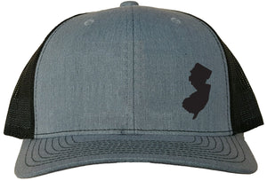 New Jersey Snapback Hat - Grey/Black