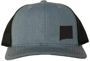 New Mexico Snapback Hat - Grey/Black