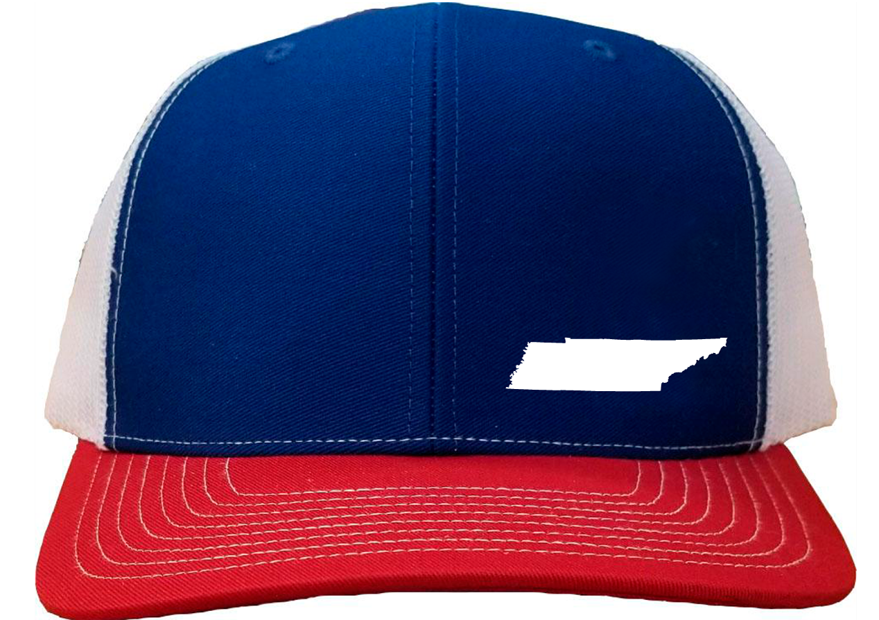 Tennessee Snapback Hat - Royal/White/Red