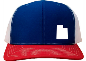Utah Snapback Hat - Royal/White/Red