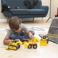 Cat Construction Build Your Own Junior Crew Excavator Building
